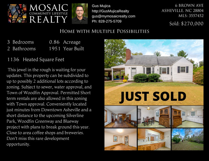 Just Sold - Home With Many Possibilities