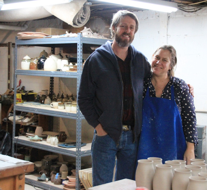 Artists in Woodfin find a balance in beauty and function