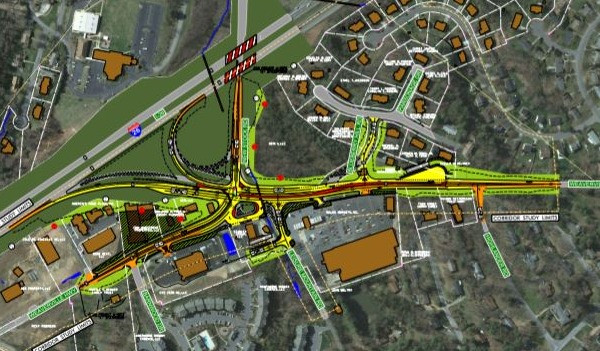 North of Asheville's Woodfin traffic resolution