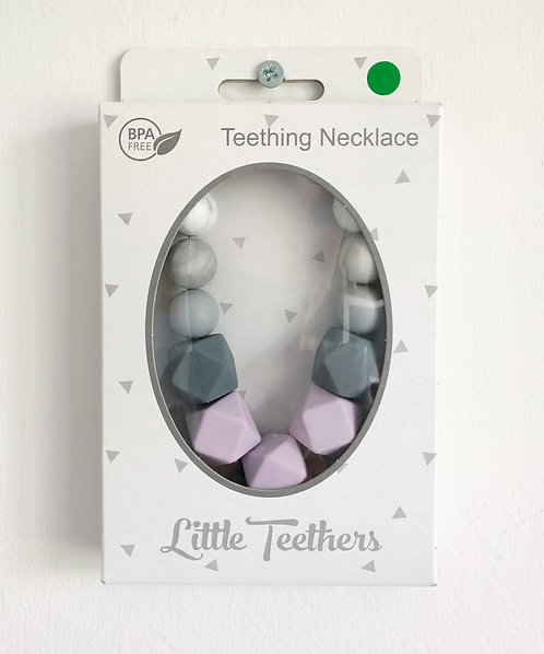 Lilac Grace Teething Necklace