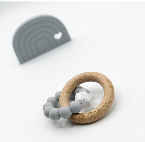 Light Grey Teething Ring