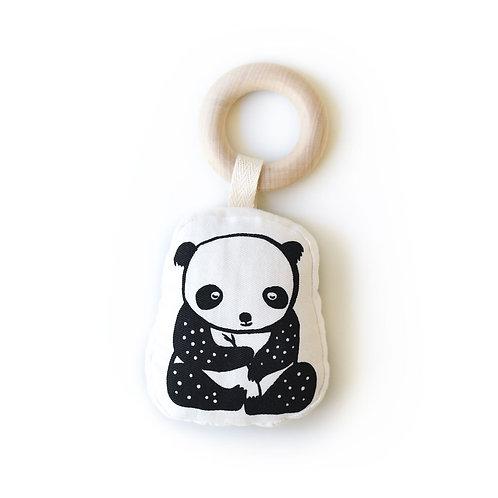 Organic Teething Ring - Panda
