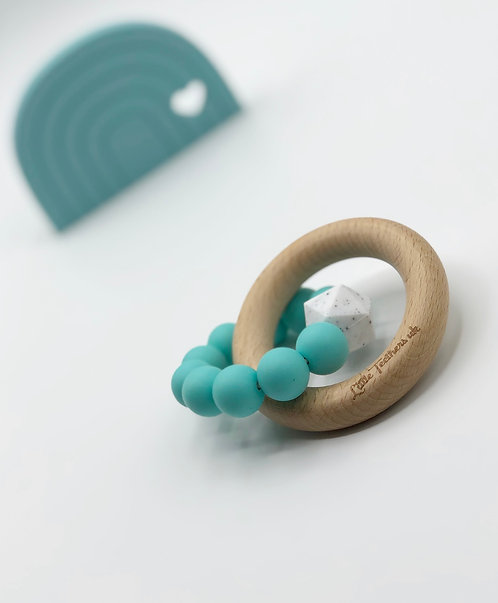 Sea Blue Teething Ring