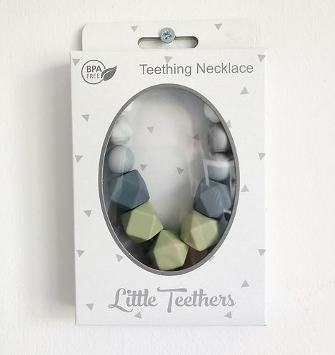 Green Grace Teething Necklace