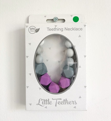 Purple Grace Teething Necklace