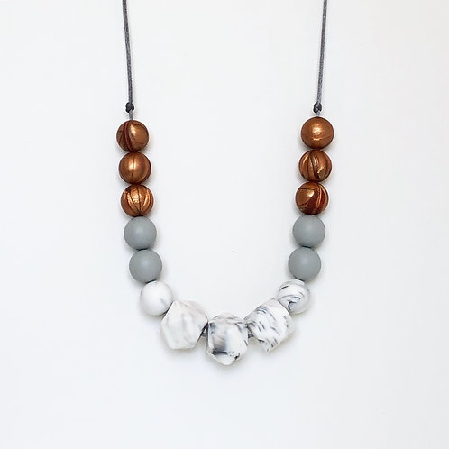 Isla Teething Necklace - Copper