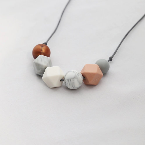 Sienna Rose Gold Teething Necklace