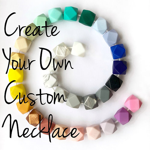 Create Your Own Custom Hexagon Necklace
