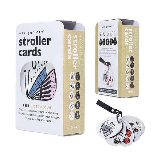 Stroller Cards - I See Bugs to Count