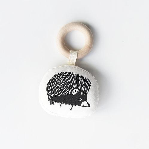 Organic Teething Ring - Hedgehog