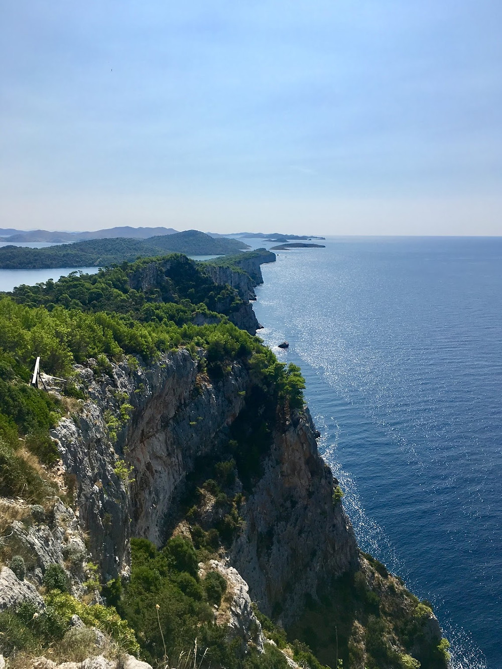 View from Fort Grpascak, Telascica, Dugi Otok