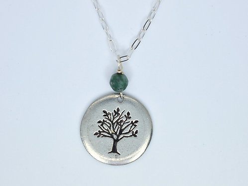 Tree of Life Jade Necklace