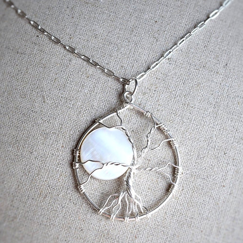 Mother Moon Sterling Tree of Life