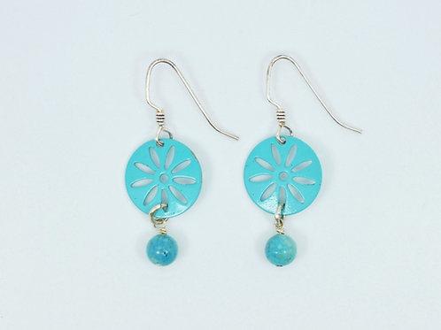 Sunburst Gemstone Earrings