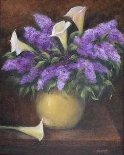 Calla Lily & Lilac