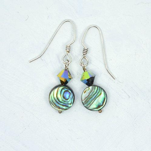 Paua Vitrial Earrings