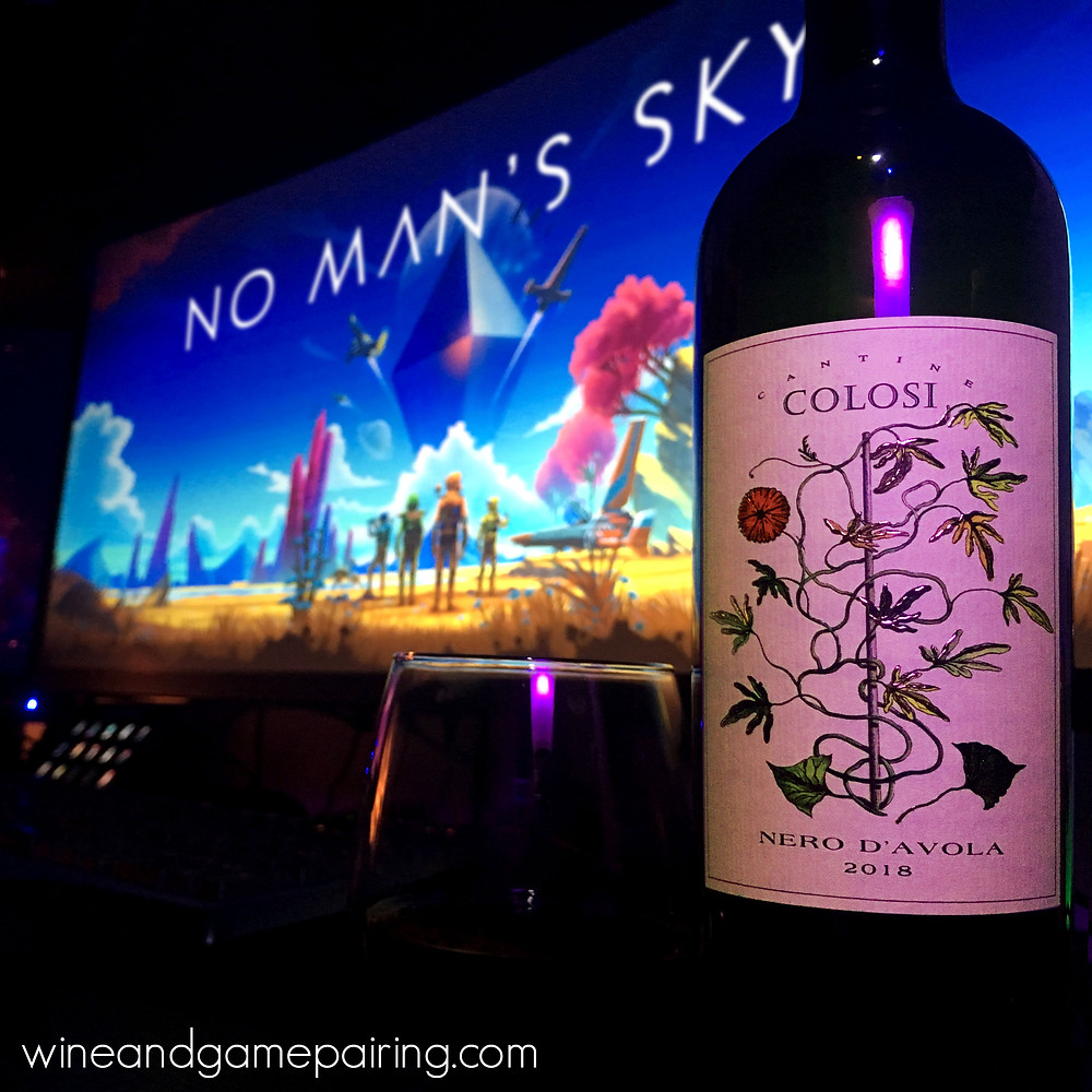No Man's Sky Cantine Colsi Nero D'Avola