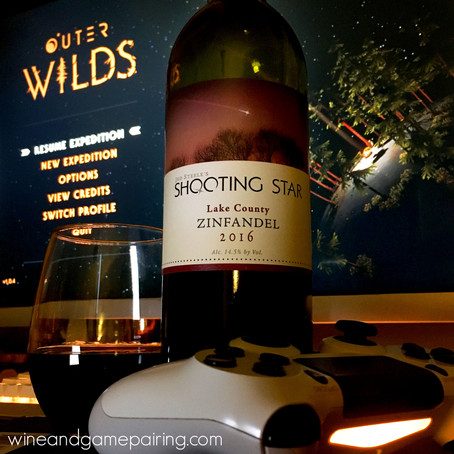 OUTER WILDS & SHOOTING STAR ZINFANDEL...AND AN INTERVIEW WITH SECMO!