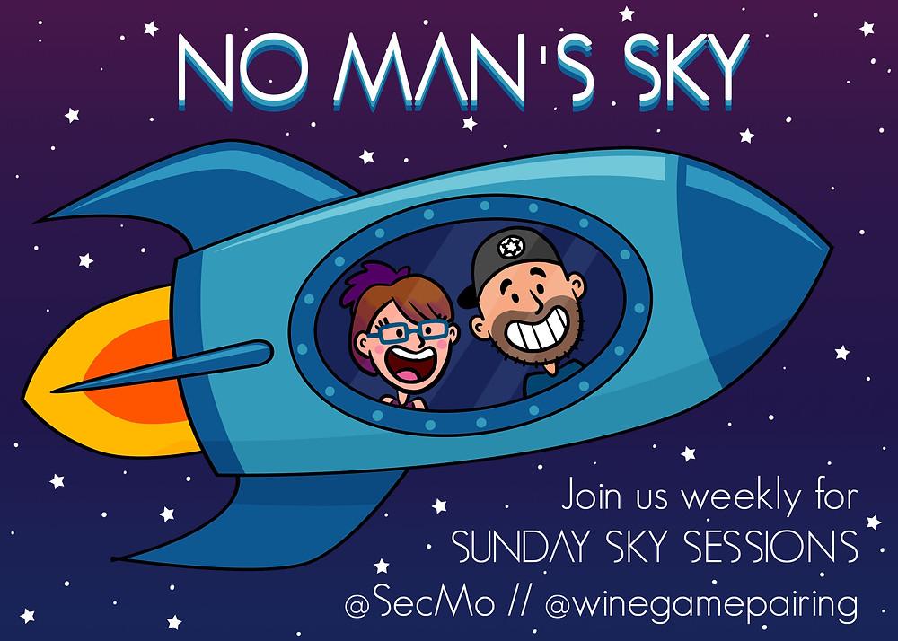 Twitch SecMo Stream No Man's Sky