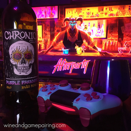AFTERPARTY & CHRONIC CELLARS PURPLE PARADISE