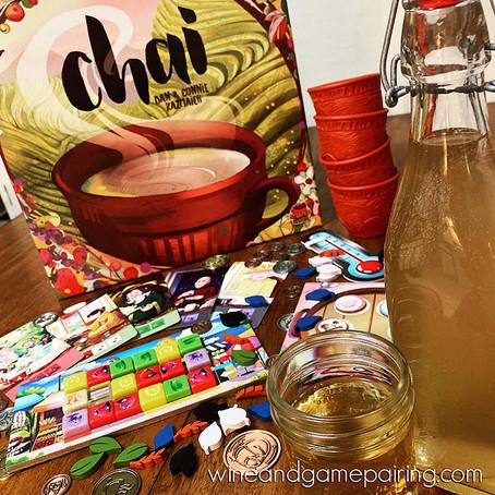 CHAI & HOMEBREWED CHAI WINE