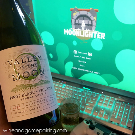 MOONLIGHTER & VALLEY OF THE MOON PINOT BLANC - VIOGNIER
