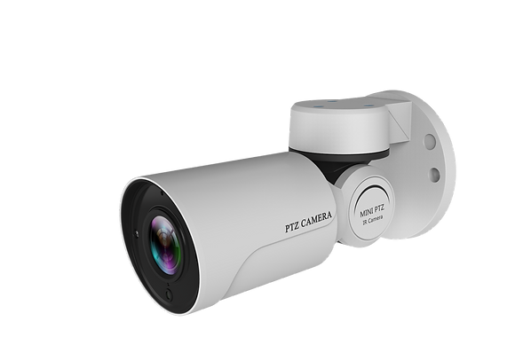 4x POE Bullet PTZ Camera