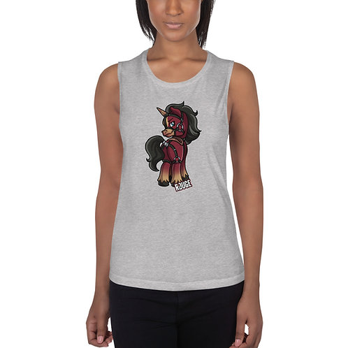 Unicorn Ladies' Muscle Tank