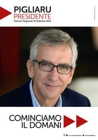 Pigliaru, elezioni regionali Sardegna