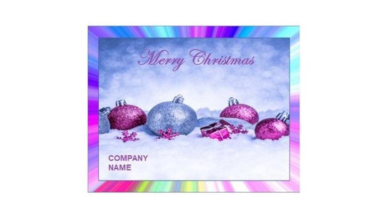 Ornament Christmas - Company
