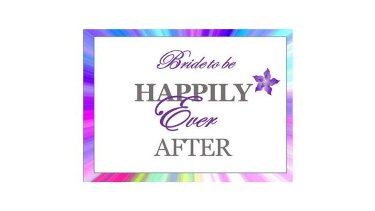 Happily Ever After Bridal Shower