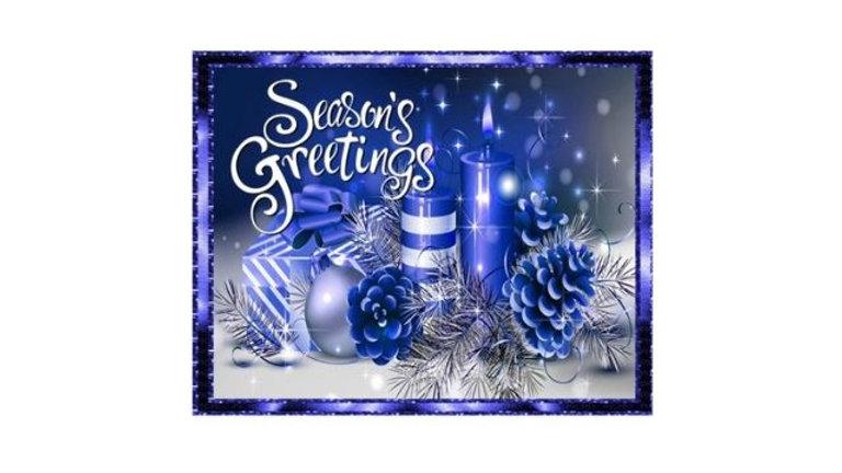 Blue Light Season's Greetings