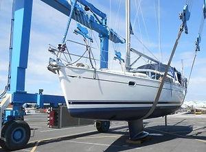 Survey of Jeanneau 40 DS yacht