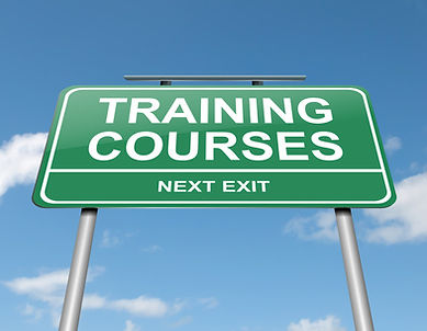 A list of safety training courses and classes.