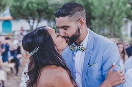 Mariés baisers