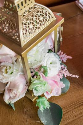 Lanterne Fleurie | Décoration mariage