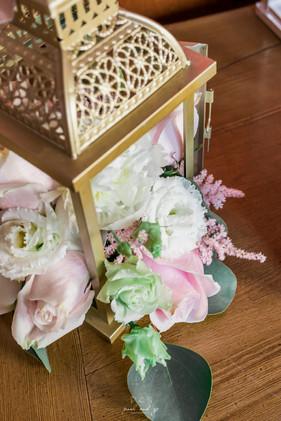 Lanterne Fleurie   Décoration mariage
