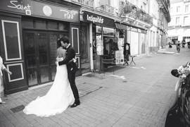 Photo couple de mariés