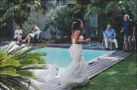 mariage , piscine