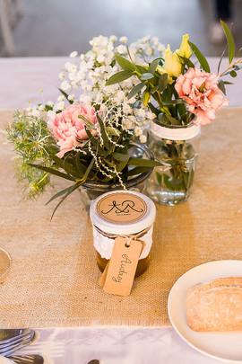 fleurs mariage | cadeaux des invités