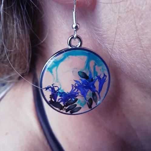 Cornflower Earrings