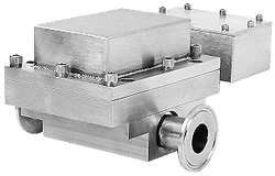 """Sensor on 1"""" Tri clamp Flow Cell"""
