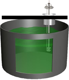 Green liquor probe sensor in dissolving tank, dissolving tank density measurement