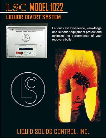 Model 1022 Black Liquor Divert System Dual Refractometer