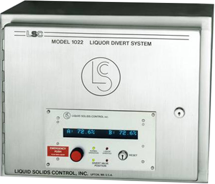 Process refractometer divert system