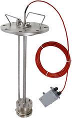 Short green liquor sensor monitor, Pipe stand dissolving tank density