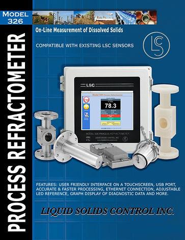 Model 326 Touch screen refraktometer Brochure