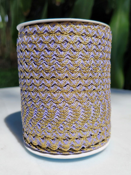 Light Purple w/Metallic Gold - 109 yards
