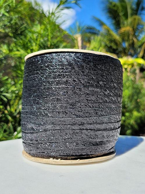 Metallic Black Bias 288YDS