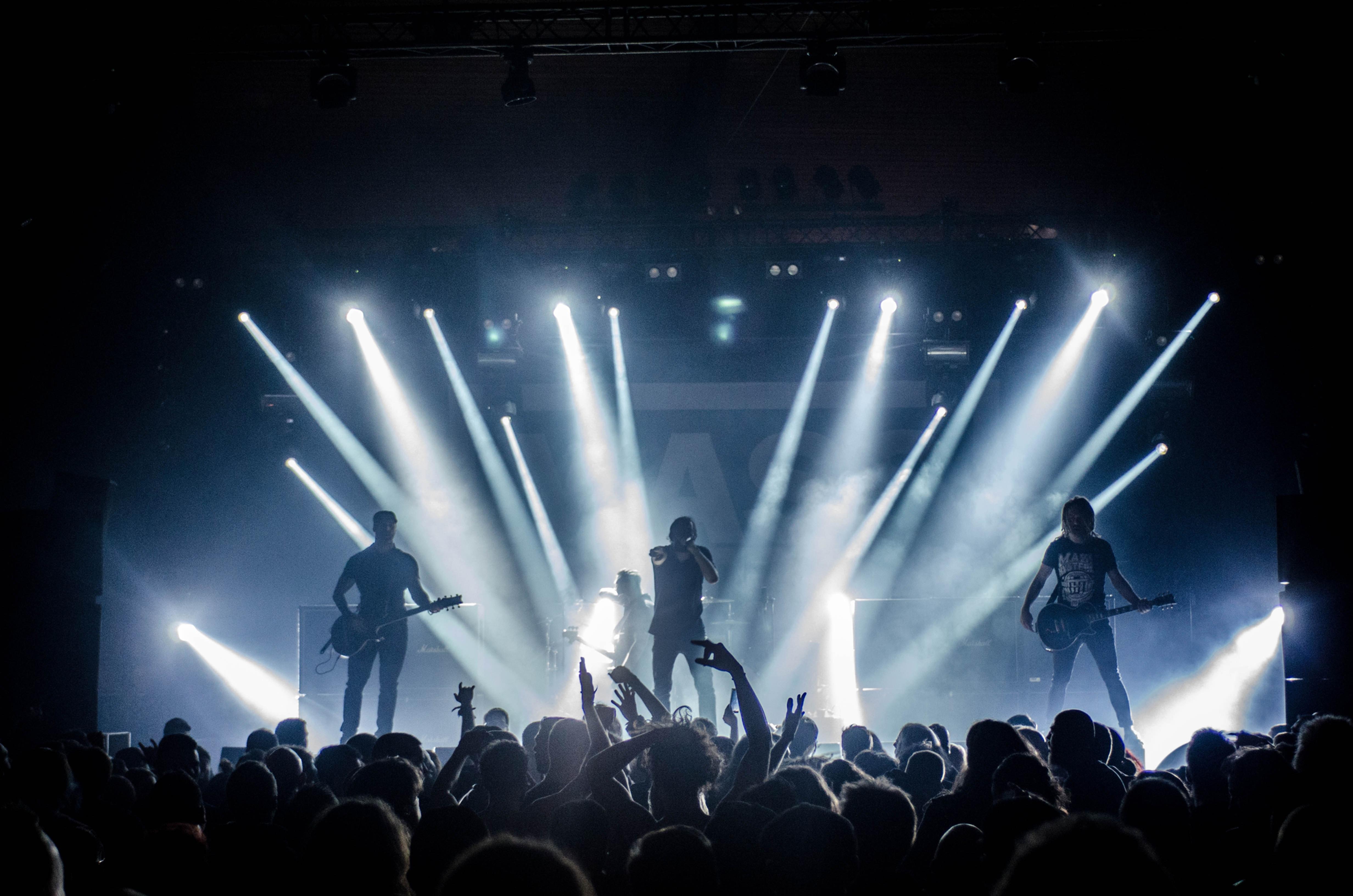 Live opptak av konserter og arrangement